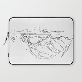 Sunrise Over the Valley Laptop Sleeve