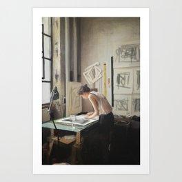 Color and light study III Art Print