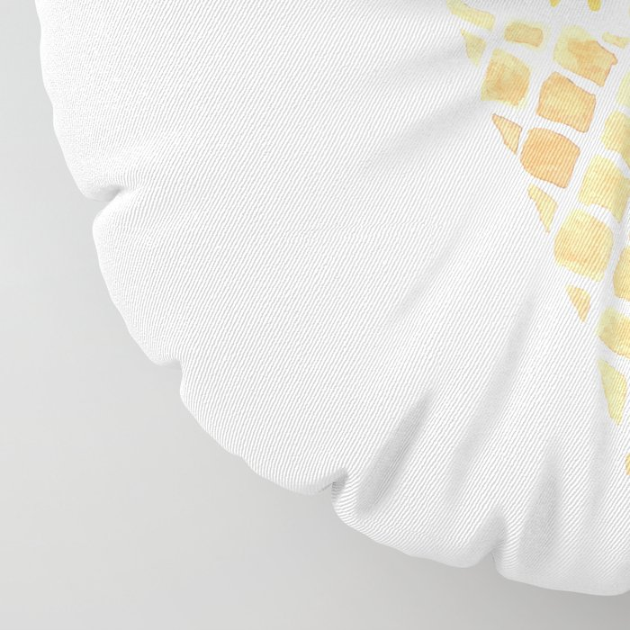 Sun Ice Cream Cone Floor Pillow