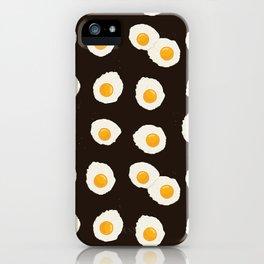 Breakfast eggs iPhone Case