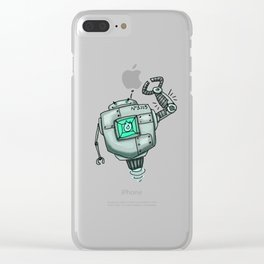 No3113 Clear iPhone Case
