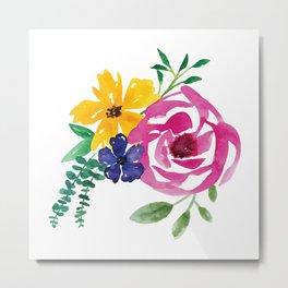 Flower Cluster #1 Metal Print