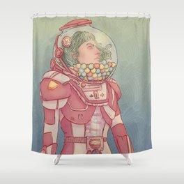 Gumballnaut Shower Curtain