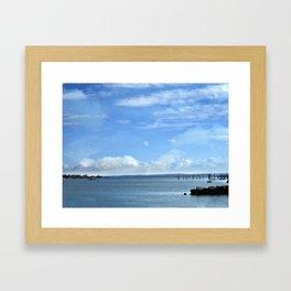 On A Clear Day Framed Art Print