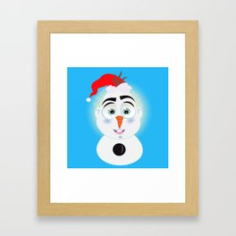 Lolo AlfsToys wants to become in Olaf Framed Art Print