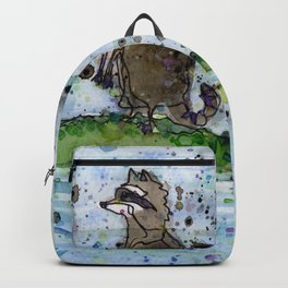 Aligator & Raccoon Backpack
