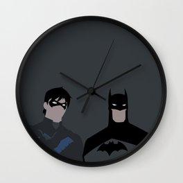 Young Justice Minimalism 1 Wall Clock