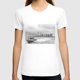 Coast Guard and NYC T-shirt