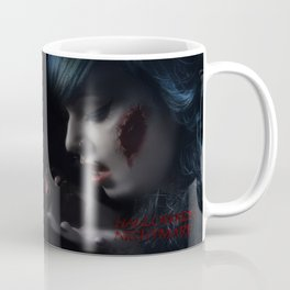 Halloween Nightmare Dead Flowers Coffee Mug