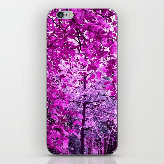 purple forest II iPhone & iPod Skin