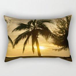 Silhouette Rectangular Pillow