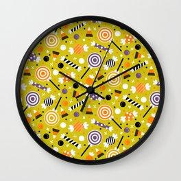 Halloween Candy Wall Clock