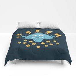 Heavy Metal Mushroom Comforters