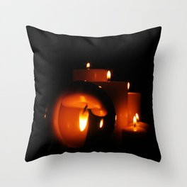 Scrying Throw Pillow