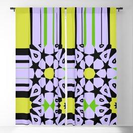 Ornament, Geometric, Arabic Blackout Curtain
