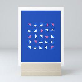 Geometrica - Color Study - 1/14/2019 - Graphic Art Print Mini Art Print