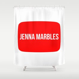 Jenna Marbles Shower Curtain