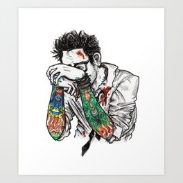 Newton Geiszler - Color Art Print