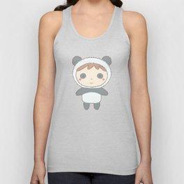 Cute Panda Kid Unisex Tank Top
