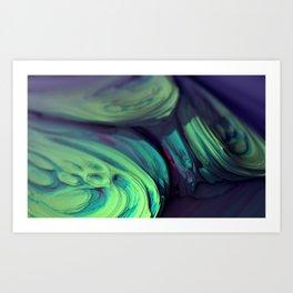 Microscopium Supercluster Art Print
