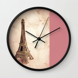 PARIS ~ MON AMOUR Wall Clock