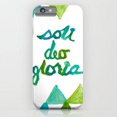 SOLI DEO GLORIA LIFE- BLUE Slim Case iPhone 6