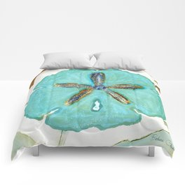 Sand Dollar Star Attraction Comforters