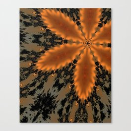 iDeal - Burnt Amber Canvas Print