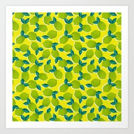 Limes for daysss Art Print
