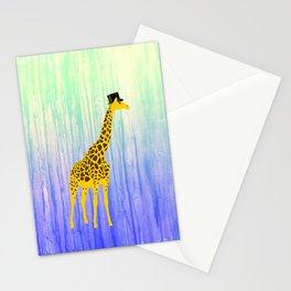 Dapper Giraffe Stationery Cards