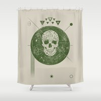 sagittarius Shower Curtains featuring Sagittarius by Josh Ln