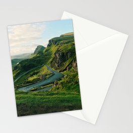 The Quiraing in Isle of Skye, Scotland Stationery Cards