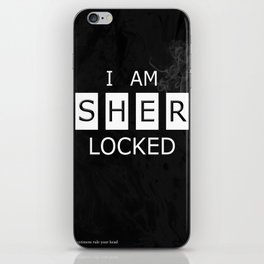No. 1. I Am Sherlocked iPhone Skin