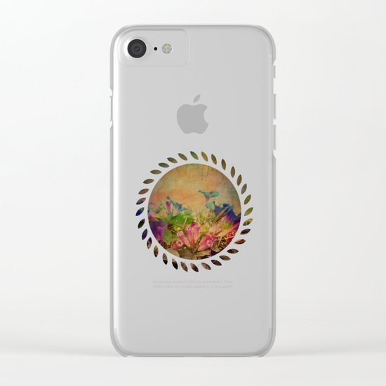 Flowers have music for those who will listen Clear iPhone Case