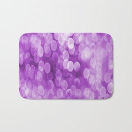 Bokeh Light In Violet #decor #society6 #homedecor Bath Mat