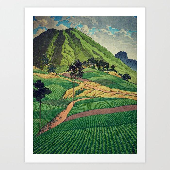 Crossing people's land in Iksey Art Print