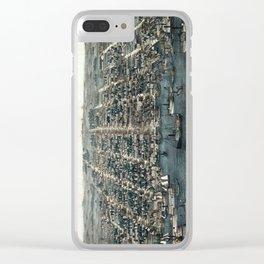 Alexandria - Virginia - 1863 Clear iPhone Case
