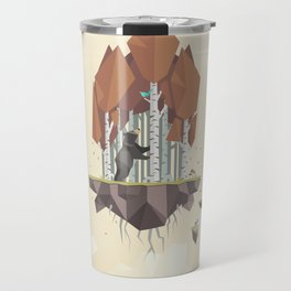 Low Poly Autumn Bear Travel Mug