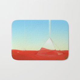 Mirror Pyramids Bath Mat
