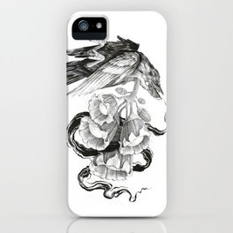 Soul of a Raven iPhone Case