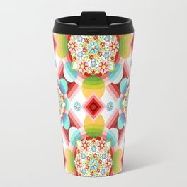 Millefiori Ombre Geometric Travel Mug