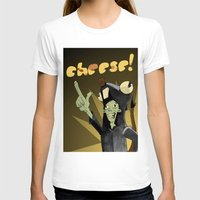 cheese T-shirts featuring CHEESE! by M.Holmes