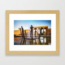 Orpheus Fountain Framed Art Print