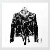 moto Art Prints featuring Moto by vincentnappi