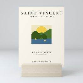 Saint Vincent Exhibition Mini Art Print