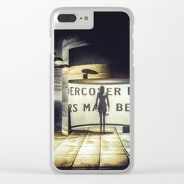 Stranger In Town Clear iPhone Case