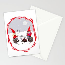 Snow and Stories Stationery Cards