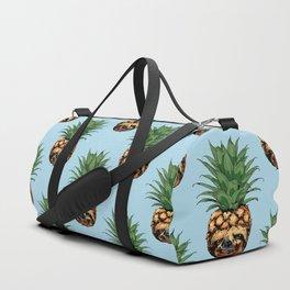 Pineapple Sloth Duffle Bag