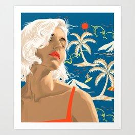 Until Next Summer Art Print