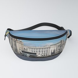 Liverpool Mersey Liver Building Fanny Pack